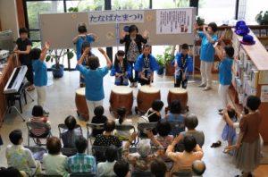 本中村の子ども達と民踊クラブの皆さん