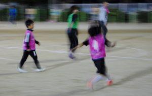 歩くサッカー