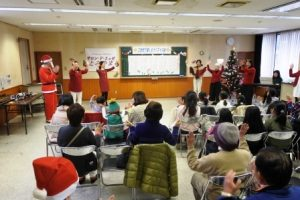 サンタさんと合唱