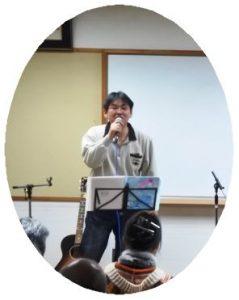 ボーカル担当の佐々木さん