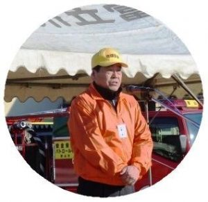 小橋実行委員長の開会の挨拶