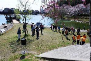 池の内大池の池畔公園