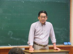 開会のあいさつをする小橋会長