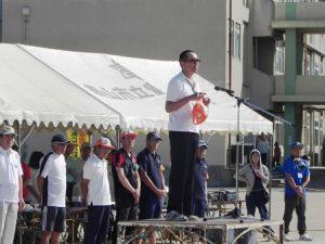 吉岡大会副会長の競技上の注意