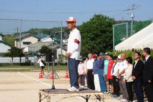 吉田大会会長の挨拶
