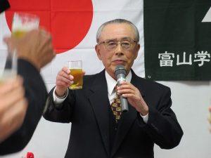 交対協岡本会長による乾杯