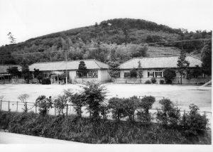 昭和40年当時の富山小学校