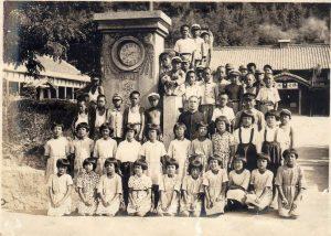昭和19年頃の小学校正門