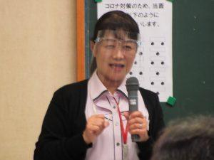 岡山ヤクルト販売の渡代伸子さん