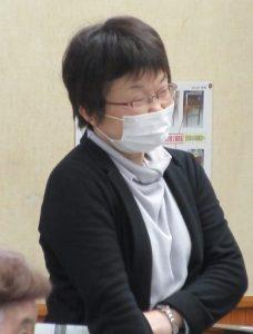 富山公民館の田中さん