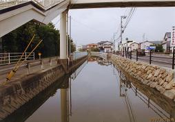 富山学区連合町内会:学区内の河...